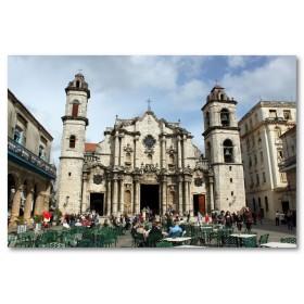 Αφίσα (Cristobal, εκκλησία, τετράγωνο)